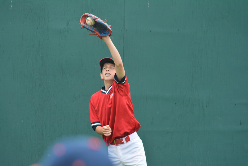 Lou Fresta warms up at the Cooperstown Park.