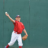 Chris Marino warms up at the Cooperstown Dreams Park.
