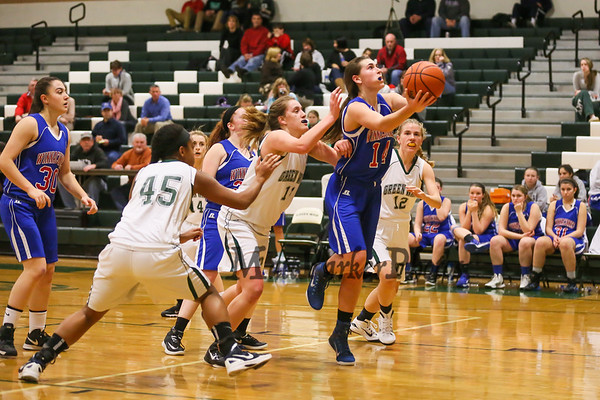 2014-12-12 WHS Girls Basketball vs Dover