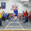 Winnacunnet's Catherine Shanley jumps 13-03.25 in the Girls Long Jump during Saturday's NH Indoor Track and Field League Meet @ The Paul Sweet Oval, UNH on 12-21-2014.  Matt Parker Photos.