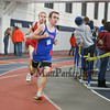 Winnacunnet's Jacob Dumont (3:04.00) competes in the Boys 1000 Meter Run during Saturday's NH Indoor Track and Field League Meet @ The Paul Sweet Oval, UNH on 12-21-2014.  Matt Parker Photos.