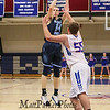 Nashua North's #14 Brennon Kastons takes a jump shot with #55 Patrick Witt covering during Monday Night's Boys Div I Basketball game between Winnacunent and Nashua North High Schools on 12-22-2014 @ WHS.  Matt Parker Photos.