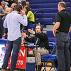 Radio Announcer and Personalities at Monday Night's Boys Div I Basketball game between Winnacunent and Nashua North High Schools on 12-22-2014 @ WHS.  Matt Parker Photos.