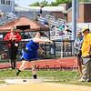 Winnacunnet's Britta Gabrielson throws 30-01.00 in the Girls Shot Put during Sunday's NHIAA Division 1 Track and Field Championships @ Winnacunnet High School on 6-1-2014.  Matt Parker Photo