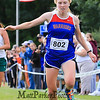 Lydia Sack Finishing Strong in the Oyster River Bobcat Invitational Cross Country Meet @ Oyster River September 2014.  Matt Parker Photos