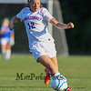 Winnacunnet's Alli Giacalone takes control of the ball as she drives it up the field towards the Timberlane goal during the Winnacunnet Girls Varsity Soccer game between Winnacunnet and Timberlane High Schools on Tuesday 9-16-2014 @ WHS.  Matt Parker Photo