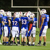 Winnacunnet JV Football vs Memorial High School on Monday 10-13-2014 @ Memorial.  Matt Parker Photo