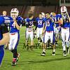 Winnacunnet JV Football vs Memorial High School on Monday 10-13-2014 @ Memorial.  Matt Parker Photo