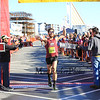 #1516 finishes 1st in the mens division at the 2014 Smuttynose Rockfest Half Marathon at Hampton Beach, NH on Sunday 10-5-2014.  Matt Parker Photo