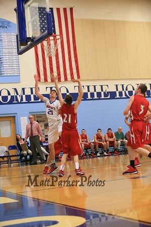 2014-12-29 WHS Boys V Basketball vs Spaulding