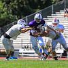 Winnacunnet Football scrimmage vs Nashua South on Friday August 29, 2014.  Matt Parker Photo