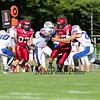 Winnacunnet Boys JV Football vs Concord @ Concord on Monday 9-15-2014.  Matt Parker Photo