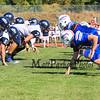 Winnacunnet Division I Football game between the Winnacunnet Warriors and Exeter Blue Hawks on Saturday 9-27-2014 @ WHS.  Matt Parker Photo