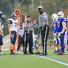 Winnacunnet JV Football vs Exeter High School @ Exeter on Monday 9-30-2014.  Matt Parker Photo