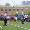 Winnacunnet JV Football vs Exeter High School @ Exeter on Monday 9-30-2014.  Matt Parker Photo