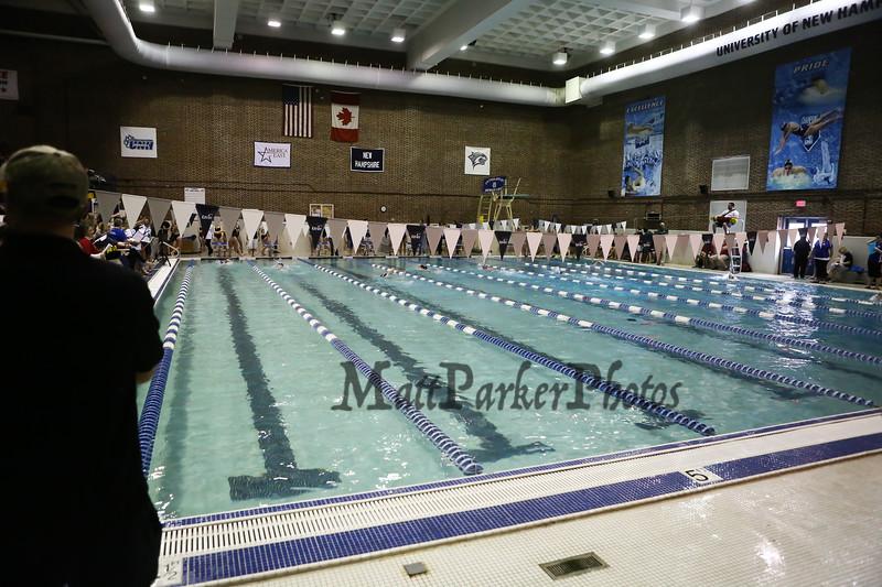 Winnacunnet Warriors Boy And Girls Swim Team At The Bobcat Invitational Swim  Meet On Sunday @