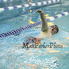 Winnacunnet's Junior Nick Looney heads down his lane while swimming in the 1st Heat of the Boys 200 Freestyle race during The Bobcat Invitational Swim Meet on Sunday @ the UNH Pool on 1-25-2015.  Matt Parker Photos