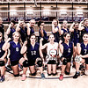 Winnacunnet Warriors Girls Freshman Volleyball vs Pinkerton High School on Thursday 10-1-2015 @ WHS.  Matt Parker Photos