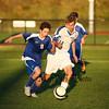 Winnacunnet Warriors Boys Freshman Soccer vs Oyster River High School on Thursday 10-15-2015 @ WHS.  Matt Parker Photos