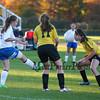 Winnacunnet Warriors Girls Reserves Soccer vs Bishop Guertin High School on Thursday 10-15-2015 @ WHS.  Matt Parker Photos