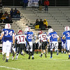 Winnacunnet Warriors Div I Varsity Football vs Timberlane Owls on Friday Night Lights 10-2-2015 @ WHS, WHS-13 Owls-24.  Matt Parker Photos