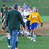 Winnacunnet Warriors DIV I Girls Soccer vs the Little Green of Central High School on Tuesday 10-20-2015 @ WHS.  Matt Parker Photos
