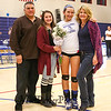 Winnacunnet Warriors Girls Senior Night Div I Volleyball game vs Concord High School on Friday 10-23-2015 @ WHS.  Matt Parker Photos