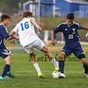 Winnacunnet Warriors Boys Soccer vs Nashua North Titans on Monday  10-5-2015 @ WHS.  Matt Parker Photos