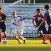 Winnacunnet Warriors Boys Freshman Soccer vs Memorial Crusaders on Tuesday 10-6-2015 @ WHS.  Matt Parker Photos