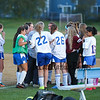 Winnacunnet Warriors Girls Reserve Soccer vs Memorial Crusaders on Tuesday 10-6-2015 @ WHS.  Matt Parker Photos