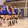 Winnacunnet Warriors Girls Freshman Volleyball vs Merrimack High School on Tuesday 10-6-2015 @ WHS.  Matt Parker Photos