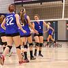 Winnacunnet Warriors Girls Freshman Volleyball vs Merrimack High School on Tuesday 10-6-2015 @ WHS.  Matt Parker Photos