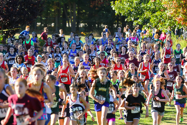 2015-10-8 Middle School XC meet Stratham Hill Park