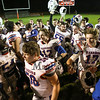 Winnacunnet players celebrate after winning Friday Night's DIV I Football game between Winnacunnet and Pinkerton Academy on 10-9-2015 @ Pinkerton.  Matt Parker Photos