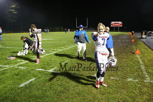 2015-10-9 WHS Football vs Pinkerton