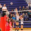 Winnacunnet Warriors Girls Volleyball vs the Astros of Pinkerton Academy on Friday 10-9-2015 @ WHS.  Matt Parker Photos