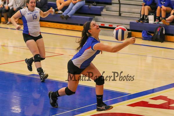 2015-10-9 WHS Girls Volleyball vs Pinkerton
