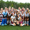 Lebanon Players and Coaches pose for a photo after winning the NHIAA DIV II Girls Field Hockey Championship game between the Portsmouth Clippers and the Lebanon Raiders on Sunday 11-1-2015 @ Bedford HS. PHS-0, LHS-3.  Matt Parker Photos