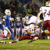 Winnacunnet Warriors Boys Varsity Football vs the Clippers of Portsmouth High School at the Friday Night Lights game on 10-16-2015 @ WHS. WHS-55, PHS-7 Matt Parker Photos