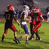 Winnacunnet Warriors JV Football vs the Raiders of Spaulding High School on Monday 11-2-2015 @ WHS.  Matt Parker Photos