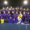 The Marshwood Hawks Cheering squad pose for a photo prior to the start of the Maine Principals Association Class B Football State Championships between Marshwood and Brunswick High Schools on Saturday @ Fitzpatrick Stadium, Portland, ME, 11-21-2015, MHS-21, BHS-14.  Matt Parker Photos