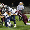 New Hampshire Sunday Night's NHIAA DIV I Championship Football game between Exeter and Goffstown High Schools @ UNH's Cowell Stadium, Durham, NH on 11-22-2015.  Matt Parker Photos
