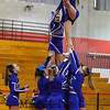 Blue Knights of West High School 2015 NHIAA DIV II Fall Spirit State Championships on Sunday 11-8-2015 @ Pinkerton Academy.  Matt Parker Photos