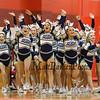 Jaguars of Windham High School 2015 NHIAA DIV II Fall Spirit State Championships on Sunday 11-8-2015 @ Pinkerton Academy.  Matt Parker Photos