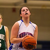 Winnacunnet Girls JV and V Div I home opener Basketball game vs Dover High School on Friday 12-11-2015 @ WHS.  Matt Parker Photos