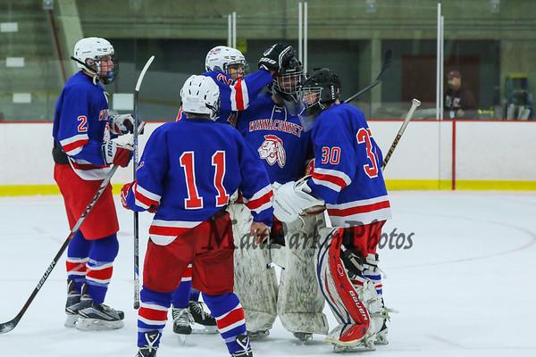 2015-12-11 WHS Hockey vs Sanborn Scrimmage