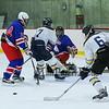 Winnacunnet Hockey scrimmage vs Sanborn Regional high School on Friday @ Phillips Exeter Academy on 12-11-2015.  Matt Parker Photos