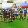 Hampton Indoor Winter Lacrosse League vs Oyster River @ Seacoast United on Sunday 12-13-2015.  Matt Parker Photos