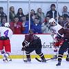 Winnacunnet Warriors DIV II Hockey vs Goffstown Grizzlies on Wednesday @ The Rinks at Exeter on 12-16-2015.  WHS-1, GHS-2.  Matt Parker Photos