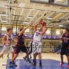 Winnacunnet Warriors JV and V DIV I Basketball vs the Crusaders of Memorial High School, Home Opener on Friday Night on 12-18-2015 @ WHS.  WHS-69, MHS-53.  Matt Parker Photos